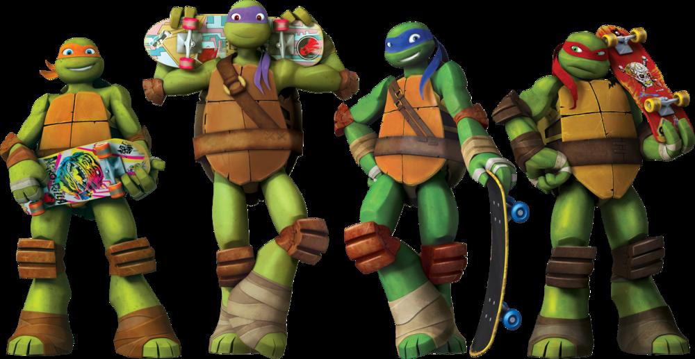 Ninja Turtles clipart tennage — Pop Turtles' Pop Turtles'