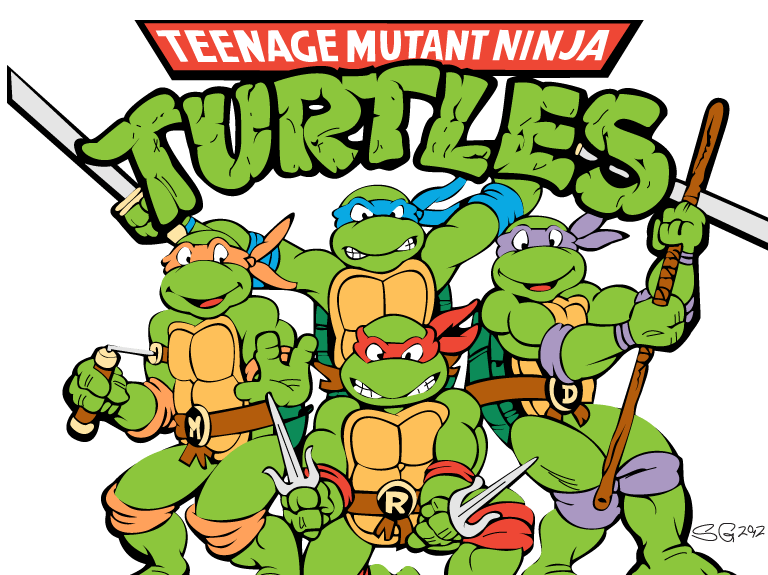 Ninja Turtles clipart vector TMNT Mutant From Turtles the