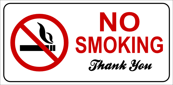 No Smoking clipart vector Smoking royalty vector this art