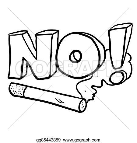 No Smoking clipart animated Simple Drawing cartoon cartoon cigarette