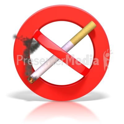 No Smoking clipart animated Symbol Great Smoking Signs PowerPoint