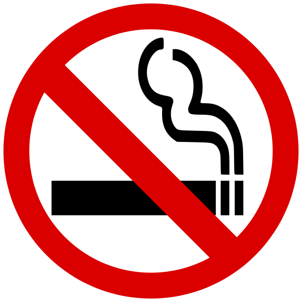 No Smoking clipart anti smoking No No  clipart Signs