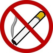 Smoking clipart bus Vector Anti Smoking No me