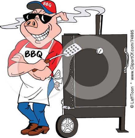 Barbecue clipart bbq chef Cartoon images best pig chef
