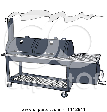 Barbecue clipart bbq smoke On clipart smoke Clip BBQ