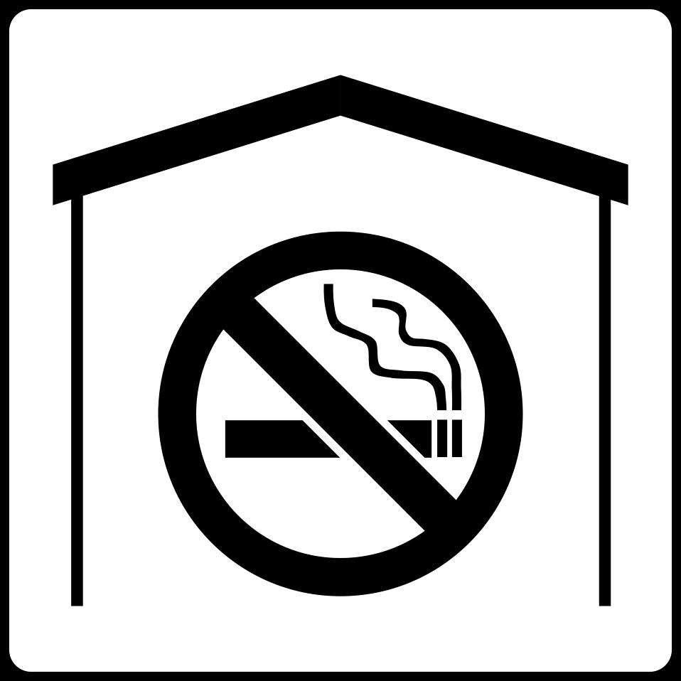 No Smoking clipart black and white White Photo Free Free :