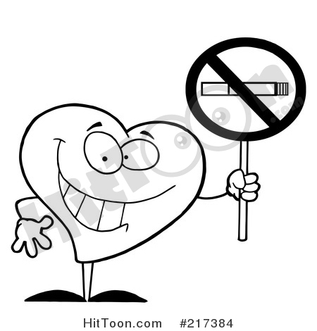 No Smoking clipart black and white Vector Illustrations Stock Preview No