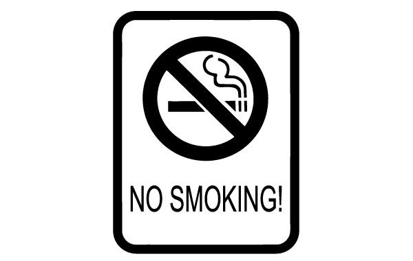 No Smoking clipart black and white Clip download Smoking No No