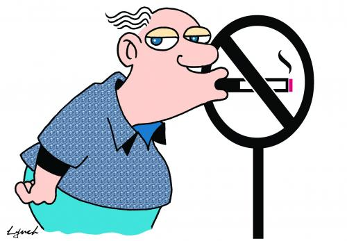 No Smoking clipart caricature Environment toons Cartoon smoking pollution