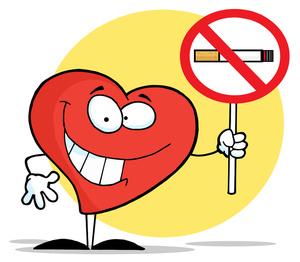 No Smoking clipart cartoon Healthy a Sign Character Cartoon