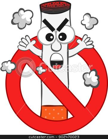 No Smoking clipart cartoon Vector Cartoon Similar stock images:
