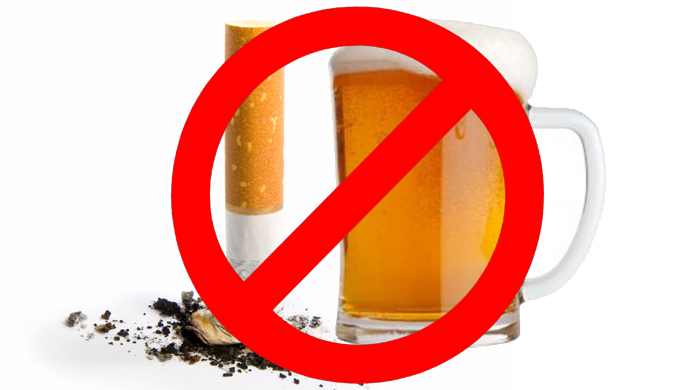 No Smoking clipart cigarettes and alcohol Lower To Cholesterol: Drinking Drinking