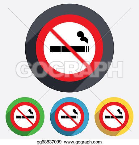 No Smoking clipart circle Prohibition Clipart Drawing  sign