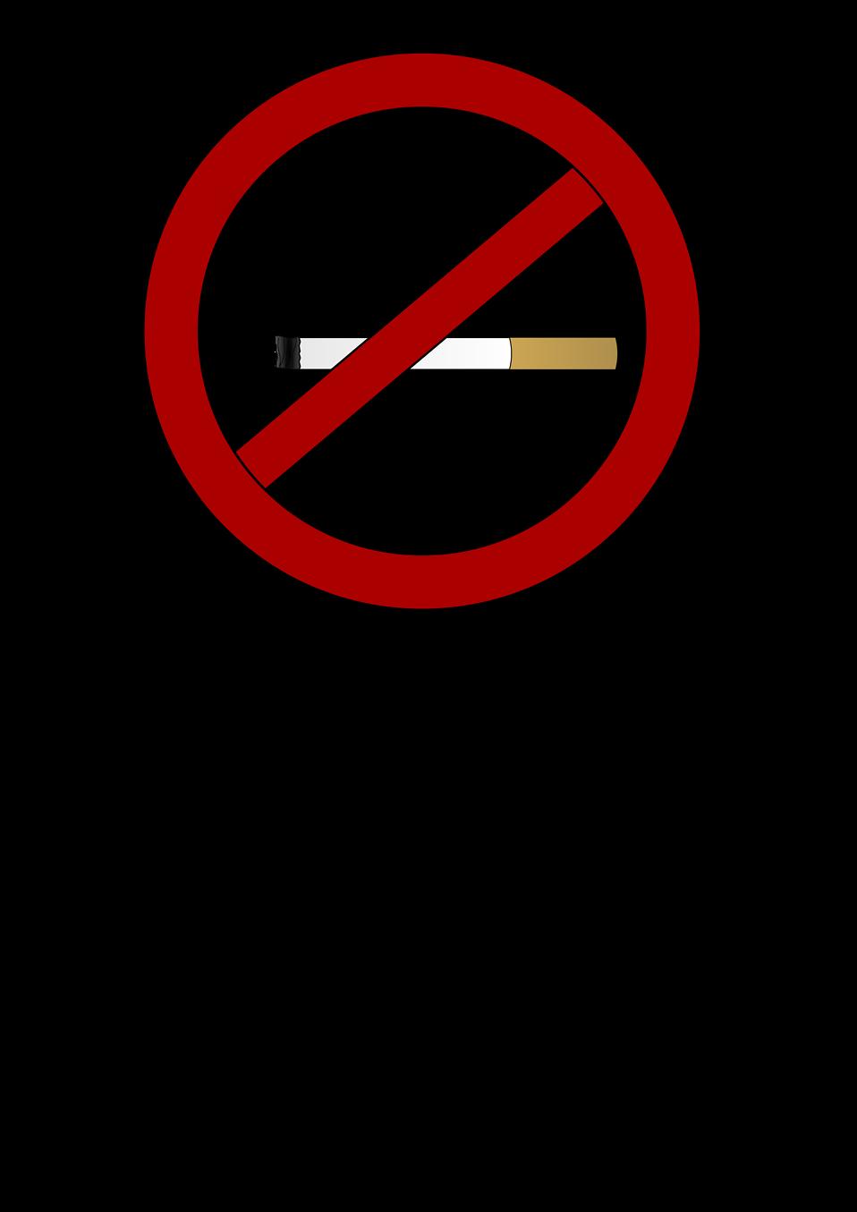 No Smoking clipart circle Photo Illustration No a symbol
