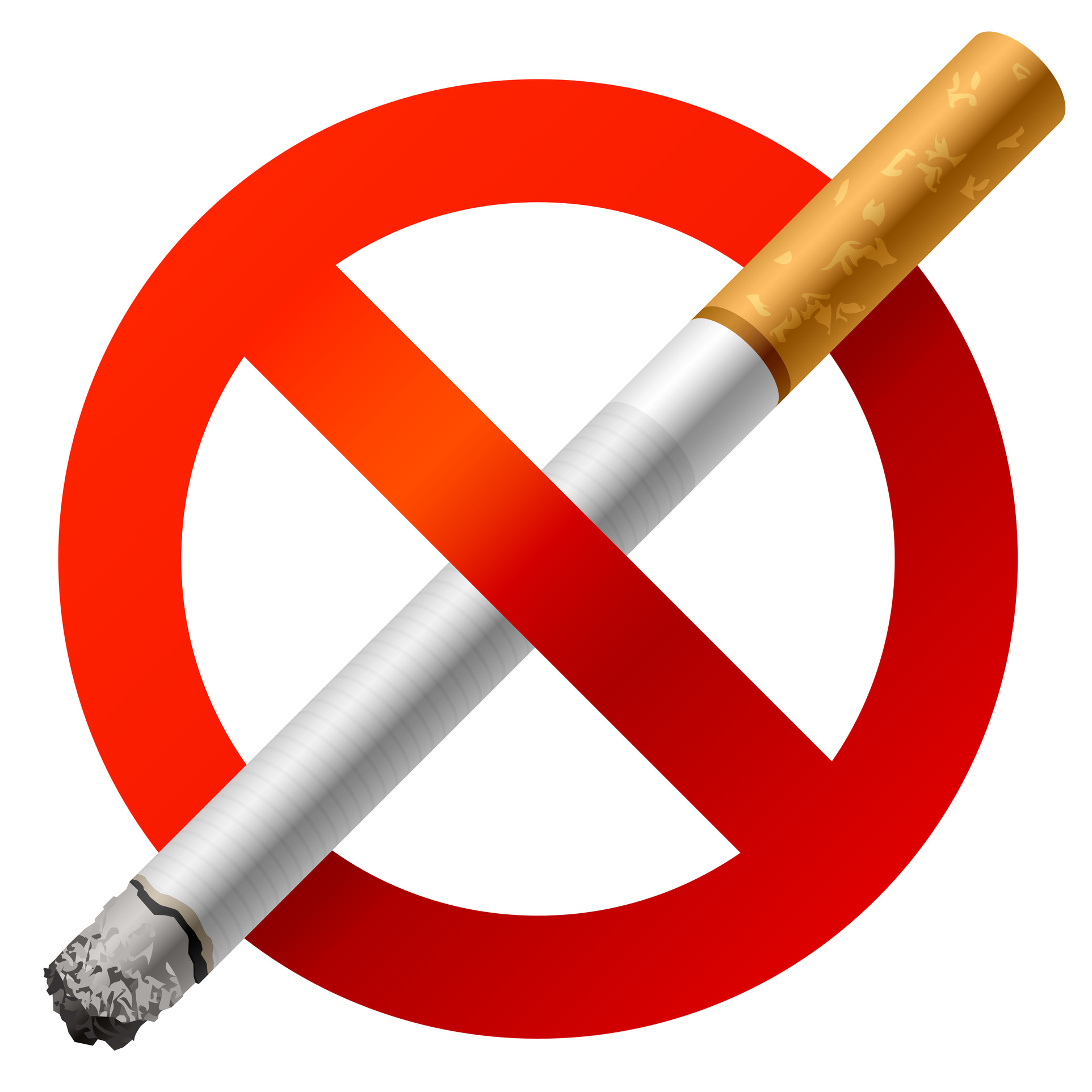 Cigarette clipart ashtray Is Smoking Effects on Bad