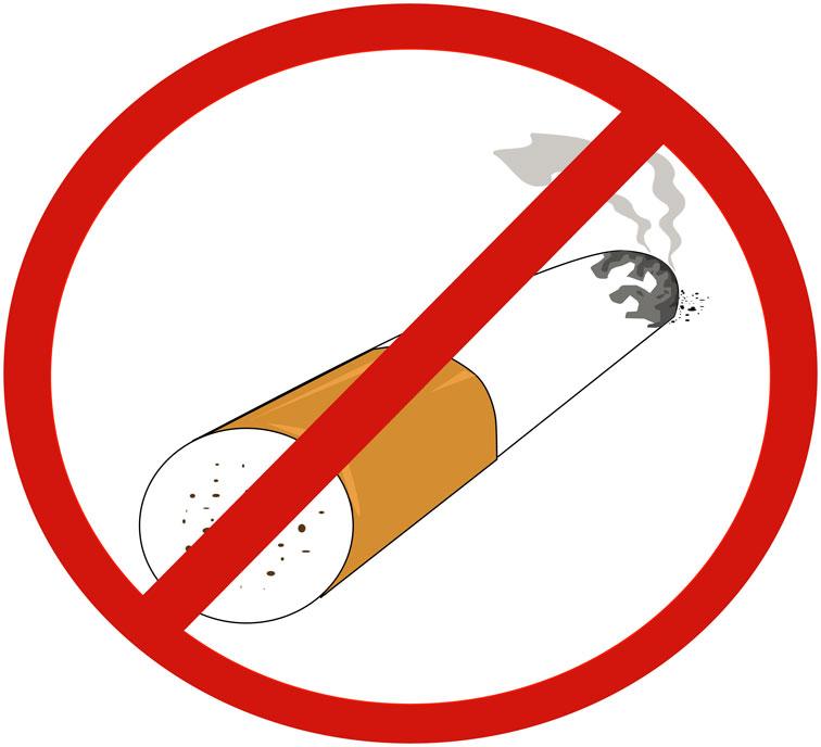 No Smoking clipart heart And No Healthy Tobacco consumption