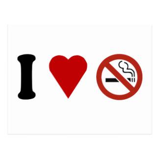 No Smoking clipart heart Smoking I Heart Postcard Smoke