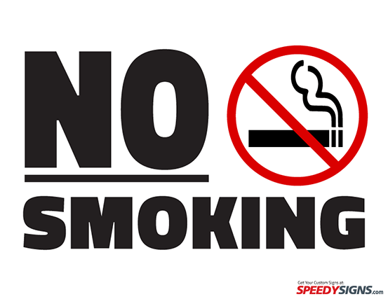 No Smoking clipart kid Smoking Smoking Template No Printable