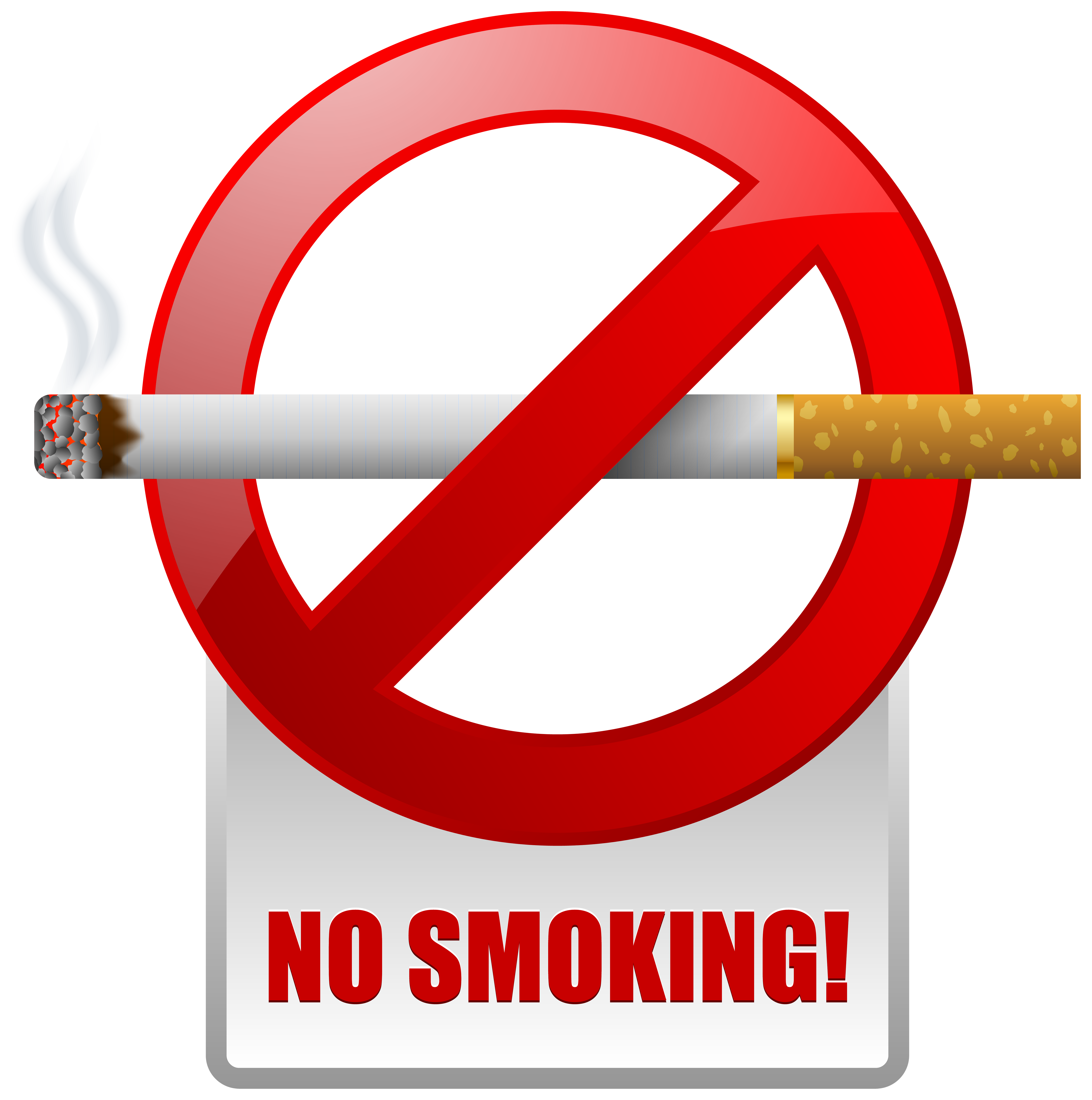 Smoking clipart bus Clipart Clipart Smoking No Red