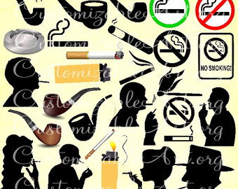 Smoking clipart train smoke Man Smoking Art Clipart Man