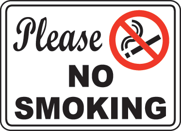No Smoking clipart please Download Art Clip Sign on