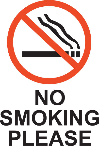 No Smoking clipart please Art clip at as: art