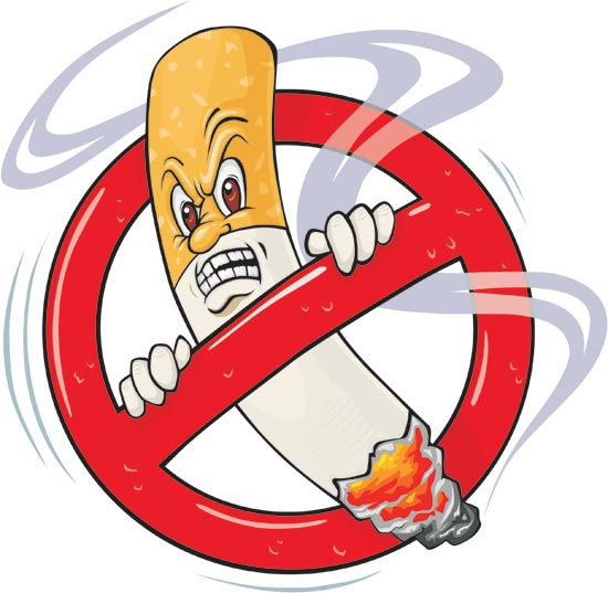No Smoking clipart pollution Their air a patients way