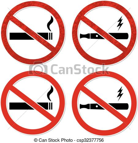 No Smoking clipart vector For Vector No and for
