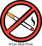 No Smoking clipart vector Icon Clip of style icon