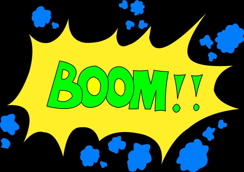 Noise clipart Boom! Art Clip Noise Clipart