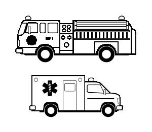 Noise clipart ambulance Download Véhicules Durgence Clip Art
