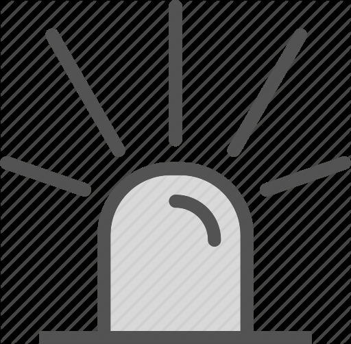 Noise clipart ambulance Icon siren ambulance Icon alarm