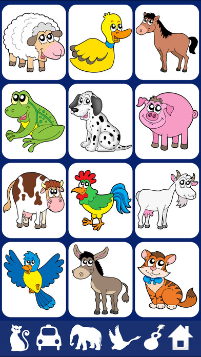 Saying clipart animal sounds #7