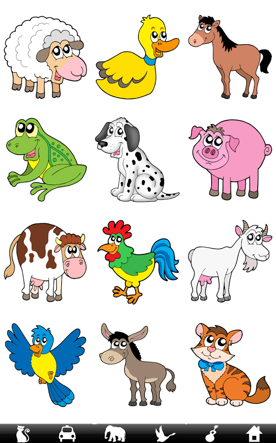 Saying clipart animal sounds #3