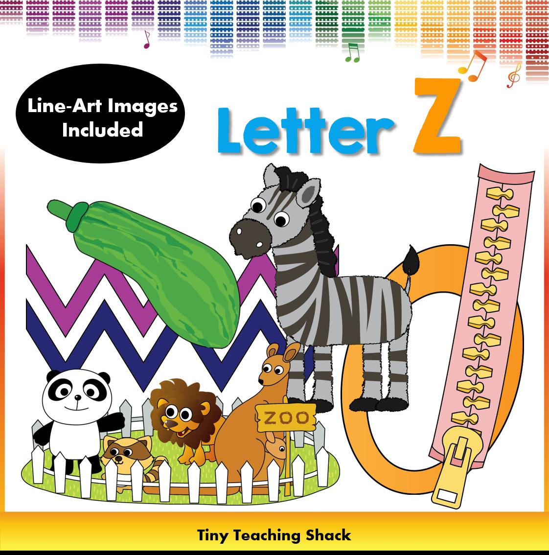 Noise clipart art subject Letter Z Clip Phonics Clip