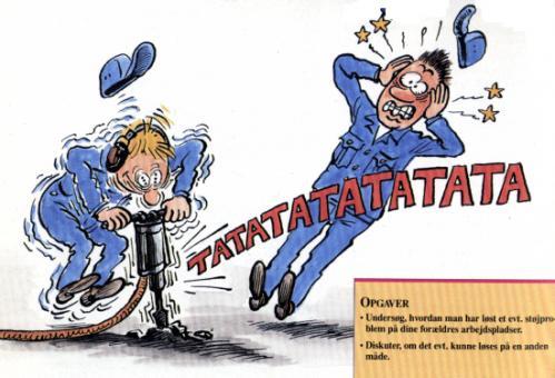 Noise clipart at work & (medium) Cartoon: tagged deleuran