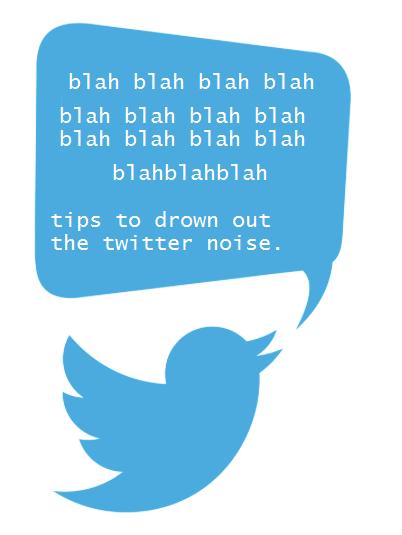 Noise clipart blah blah Out Twitter 15 Drown Noise