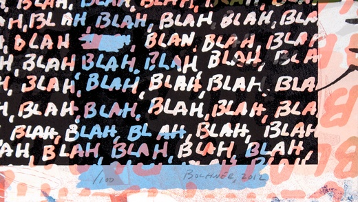 Noise clipart blah blah Blah + Blah Blah Bochner