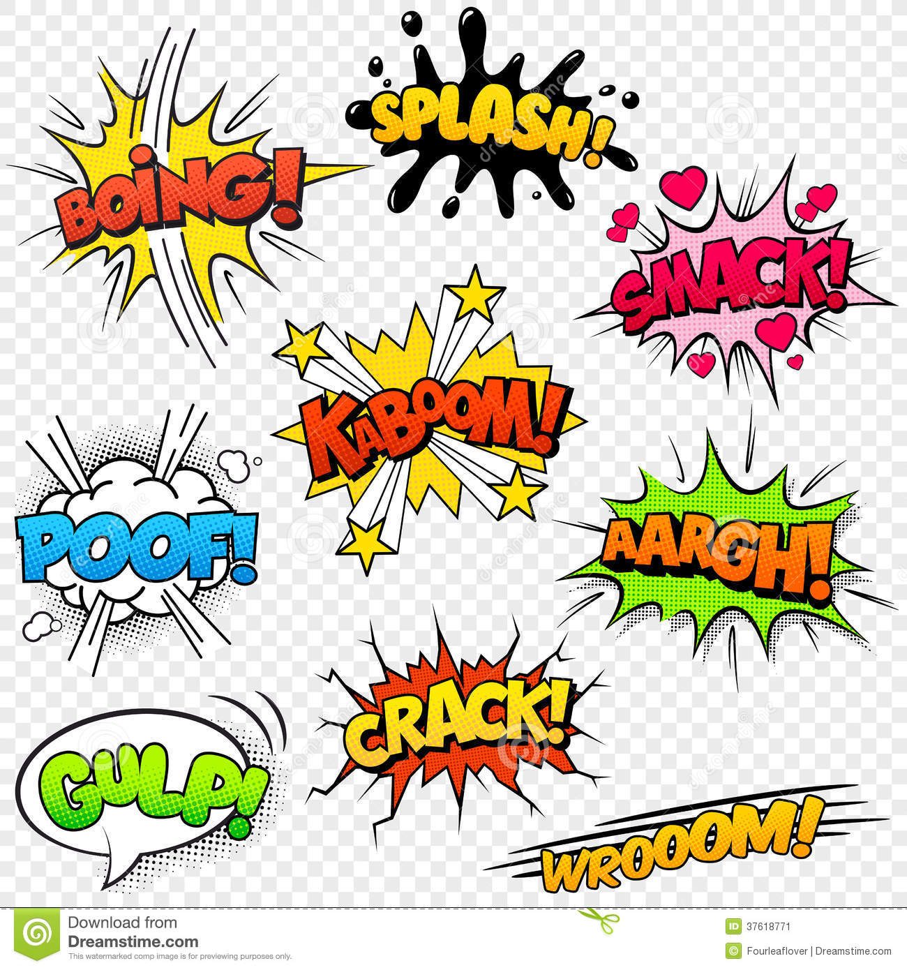 Comic clipart capt 37618771 Image  Sound Effects