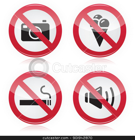 Noise clipart don t Food Forbidden noise stock smoking