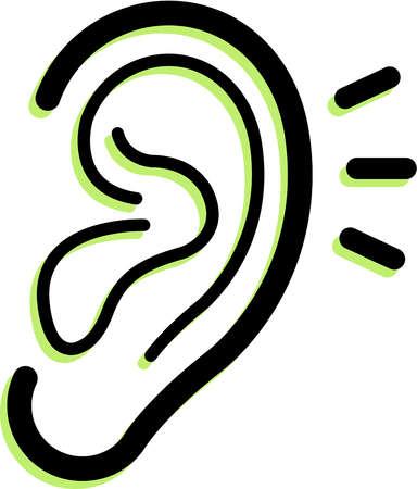Pice clipart ear Free Art Free on Ear