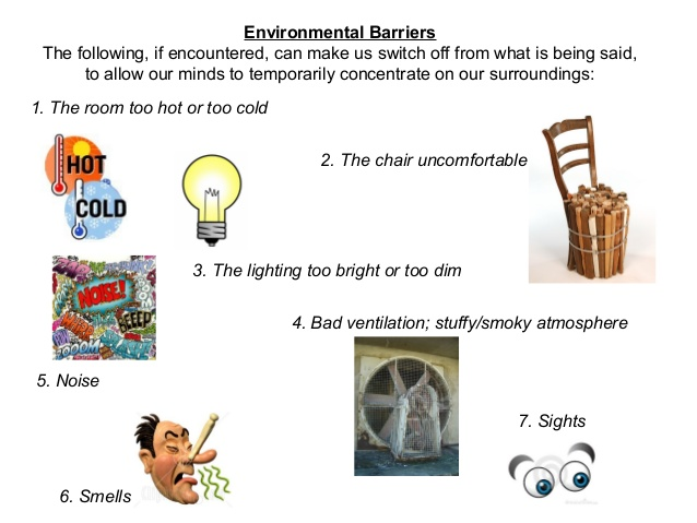 Noise clipart effective listening To 4 Barriers effective listening