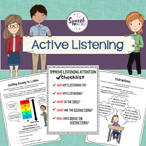 Noise clipart effective listening Middle listening tpt cover_active School