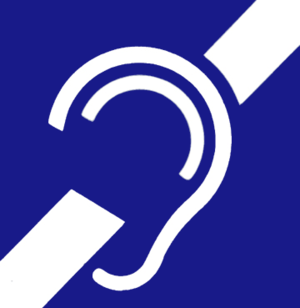 Noise clipart hearing impaired Loss and international symbol Wikipedia