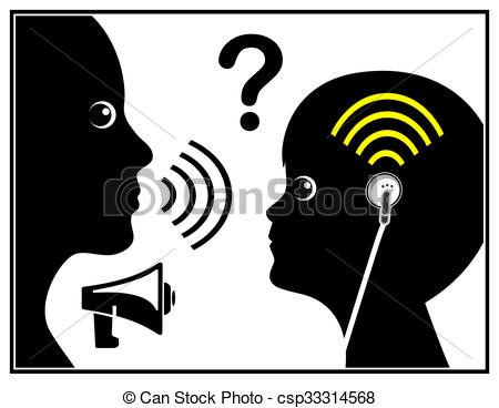 Noise clipart hearing impaired Loss with Stock of with