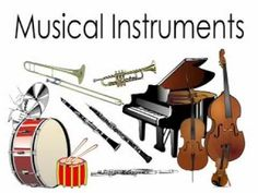 Noise clipart instrumental music Preschoolers Musical Orchestral Toddlers Kids