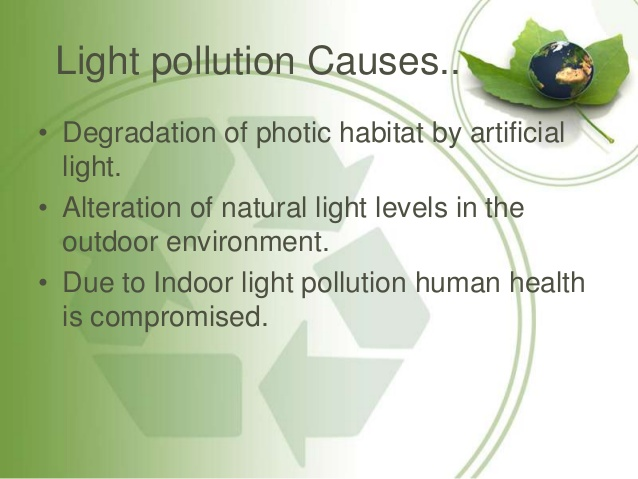 Noise clipart light pollution Light 35 Pollution effects Pollution