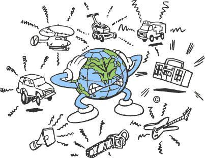 Noise clipart light pollution Pollution Noise Presentation on Pollution: