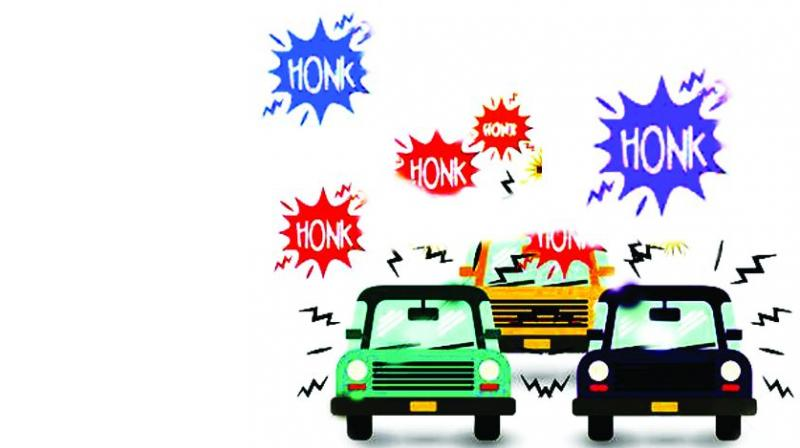 Traffic clipart noise pollution #11