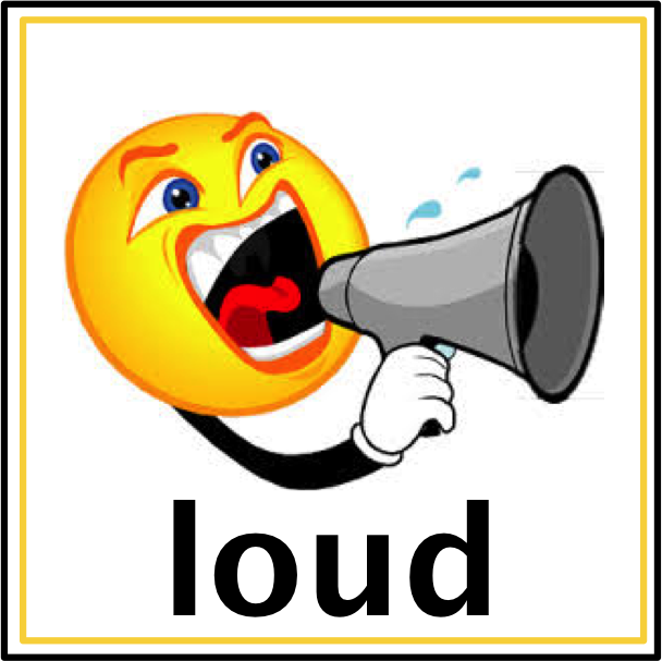 Noise clipart loud sound object Notes: 4 Sounds And Soft